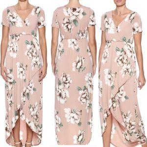 Vanilla Bay Floral Maxi Dress